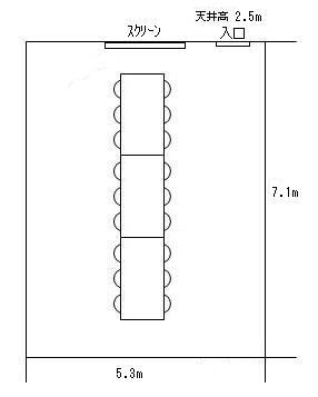 ミーティング室4見取り図